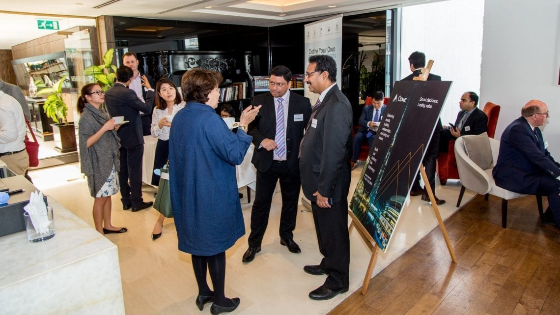 See the pictures! Crowe-Penta Event 5 November in Dubai DIFC