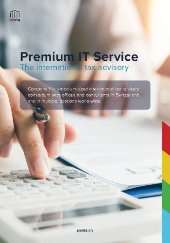 Penta Case Study The international tax advisory