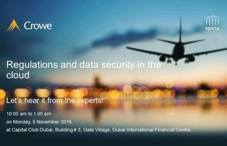 Event: Regulations and data security in the cloud